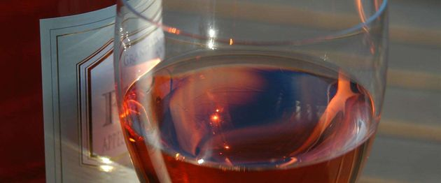 wijnglas-rose