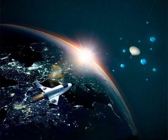 """Win een """"flight into space"""" met KLM"""