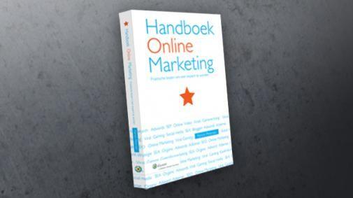 WIN een van de drie exemplaren van het Handboek Online Marketing
