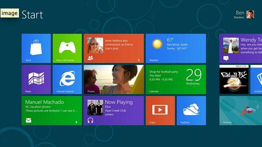 Windows 8, Windows 8 Pro en Windows RT