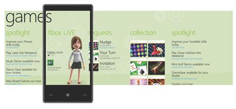Windows Phone 7 pas vanaf volgend jaar interessant voor gamers