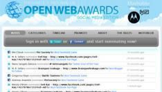 Winnaars Mashable openwebawards