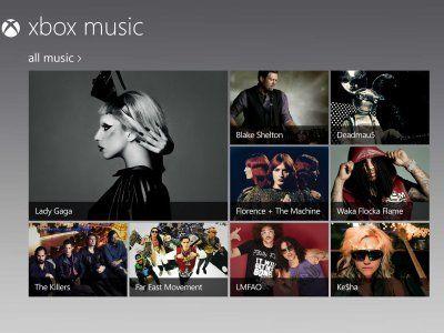 Xbox Music: combinatie van Spotify, iTunes en Pandora
