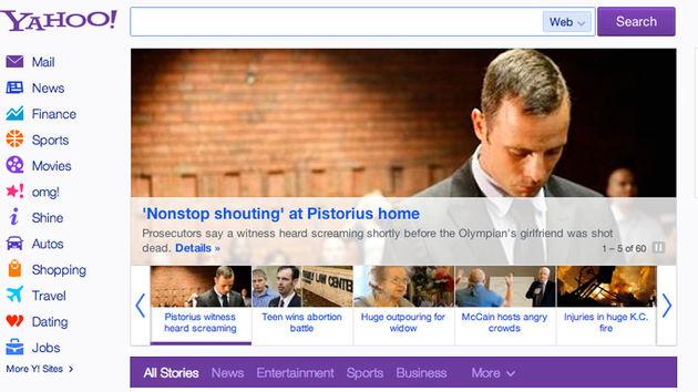 Yahoo vernieuwt homepage en voegt onbeperkt scrollen toe