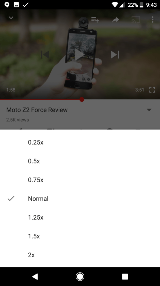 youtube-app-snelheid