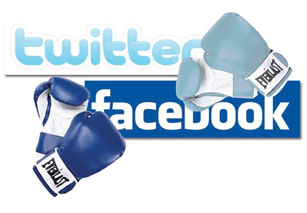 Zal Twitter ooit groter worden dan Facebook? [Infographic]