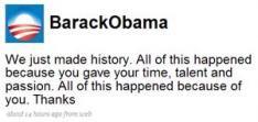Zege Obama was voorspeld op Sociale netwerken