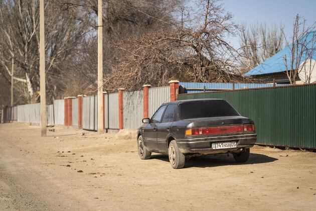 Zharkent_Kazachstan_auto