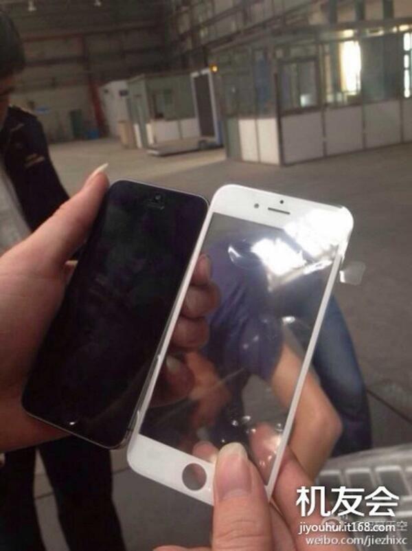 Zo ziet het scherm van de iPhone 6 er mogelijk uit