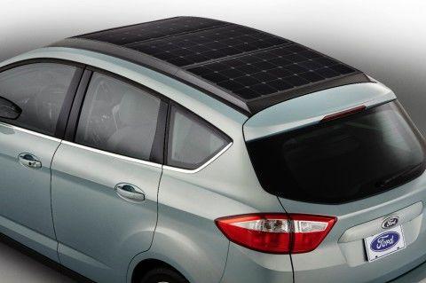 Zonnedak 2.0 bij de C-MAX Solar van Ford