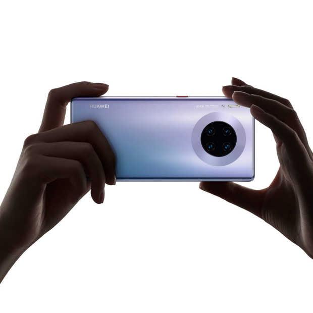 Nieuwe Huawei Mate 30 Pro komt beperkt beschikbaar