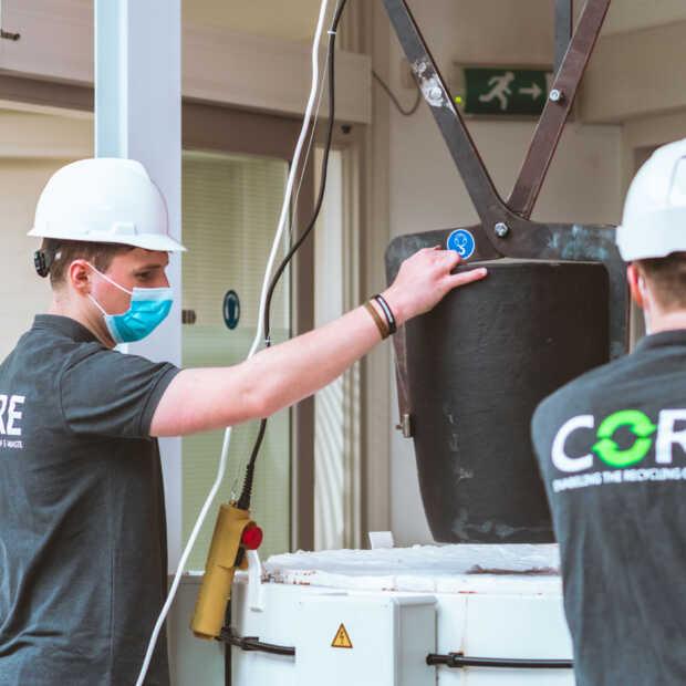 Studententeam TU/e onthult oven om e-waste aan te pakken
