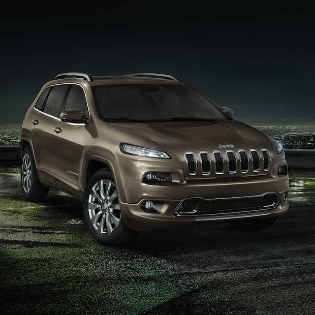 Jeep Cherokee Overland midsize SUV met een overdosis aan luxe