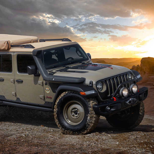 Welcome to the pleasure dome, dit is de Jeep Gladiator Wayout