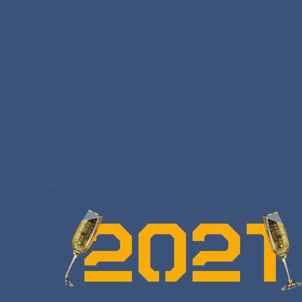 Het is 2021: iedereen een gelukkig nieuwjaar!