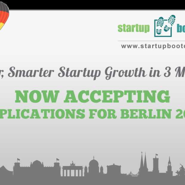 27 november is D-day voor de startups van Startupbootcamp Berlijn