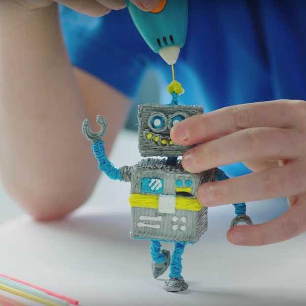 3D tekenen voor kinderen met de 3Doodler Start