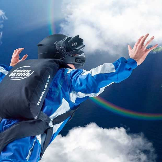 4D entertainment in een windtunnel: VR Skydive is een gaaf begin