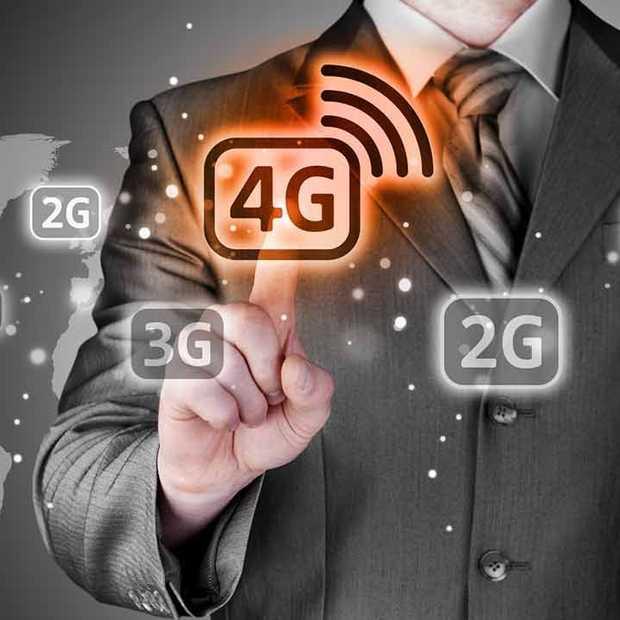 De groei van 4G is binnen Europa in Nederland het hoogst