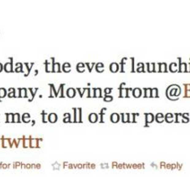 5 jaar later tweet Jack Dorsey over het ontstaan van Twitter