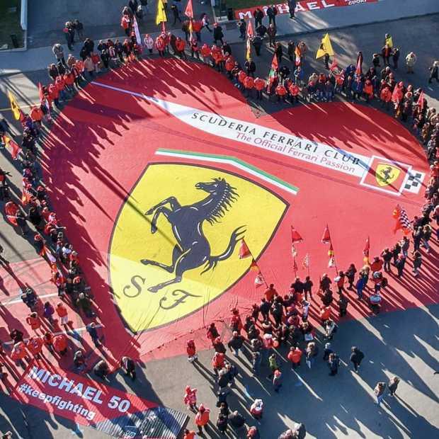 Tentoonstelling voor 50e verjaardag van Michael Schumacher