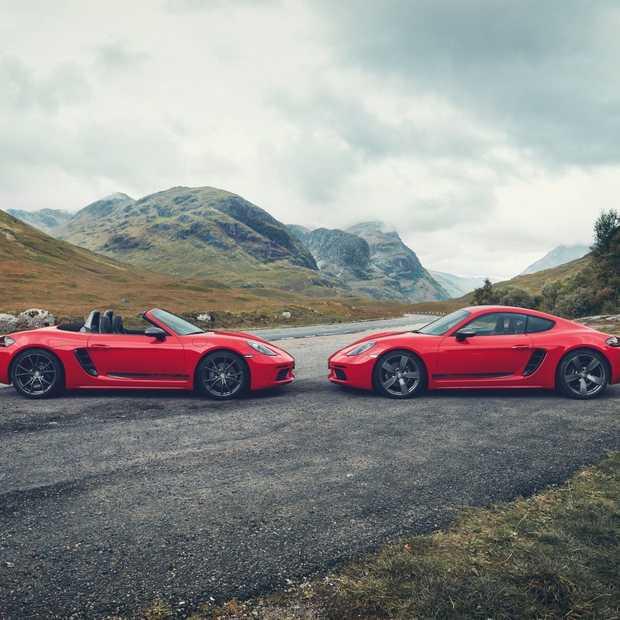 Puur rijplezier met de nieuwe Porsche 718 T