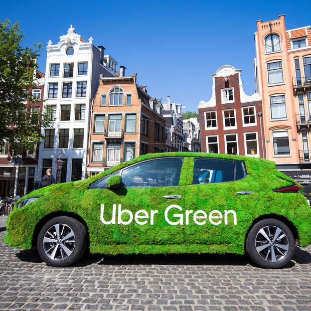 Uber wil in 2040 een emissievrij mobiliteitsplatform zijn
