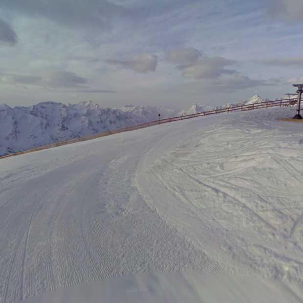 Aantal skigebieden uit Frankrijk, Oostenrijk en Italië opgenomen in Street View