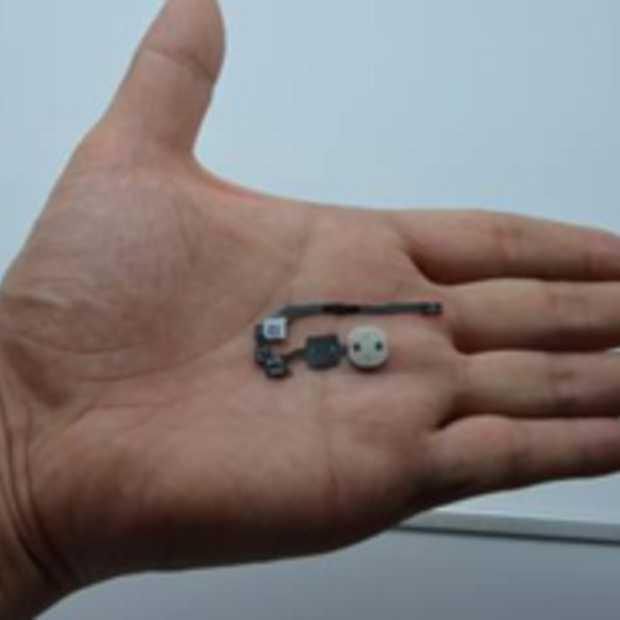 Aanwijzingen voor vingerafdrukscanner iPhone 5S