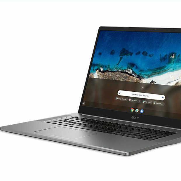 Acer - De eerste 17,3 inch Chromebook is in aantocht