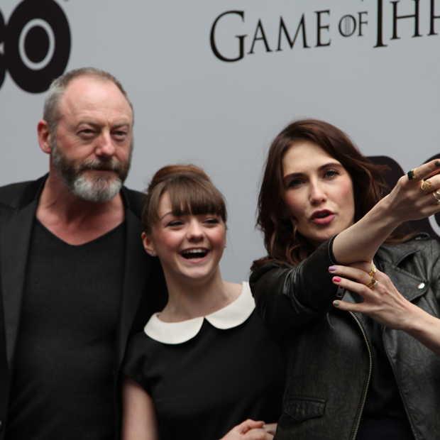 Acteurs openen 'Game Of Thrones' expositie in Amsterdam
