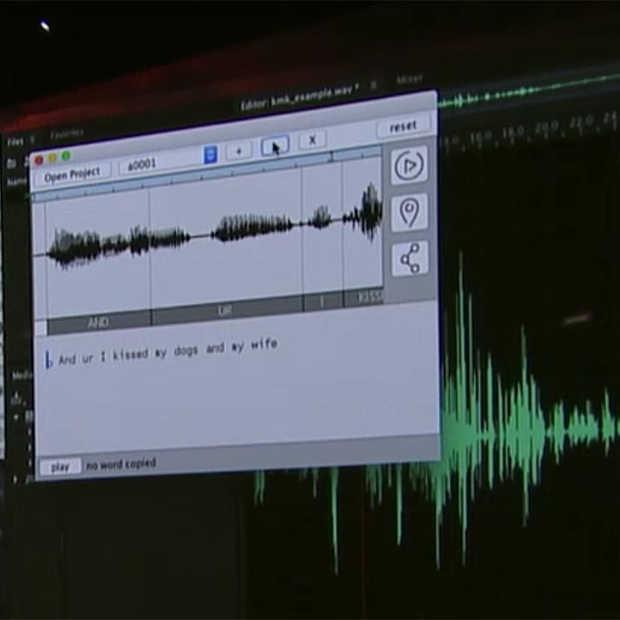 Adobe toont app die je woorden toe laat voegen aan Audio: VoCo