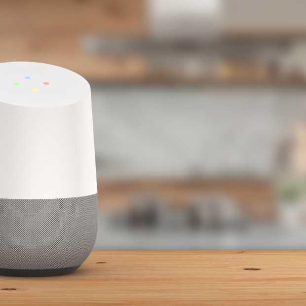 Google Home luistert steeds beter