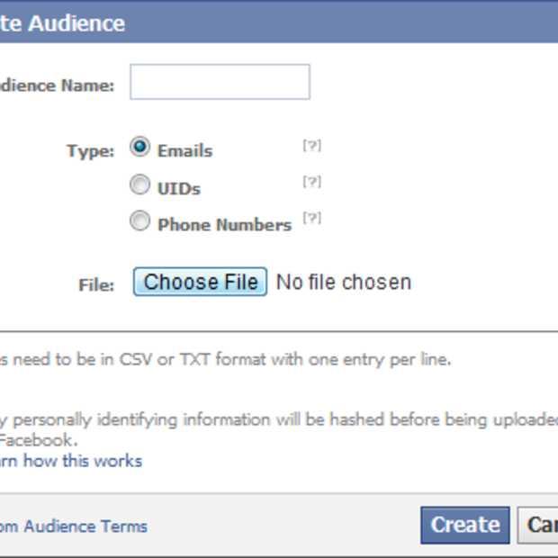 Adverteerders op Facebook krijgen User ID en telefoonnummer als targeting opties