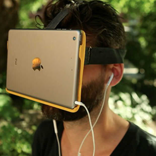 De AirVR, Virtual Reality met een iPad of iPhone 6 Plus op je neus