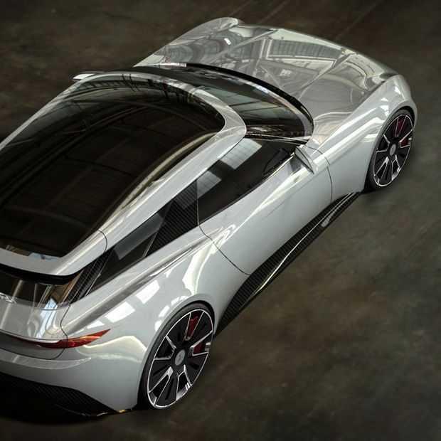 En daar is weer een nieuwe elektrische auto: de Alcraft GT
