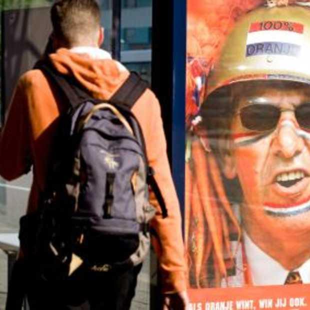 """""""Als Oranje wint, win jij ook"""" is verboden!"""
