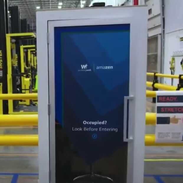 Amazon zet 'telefooncellen' in magazijnen om te 'ontstressen'