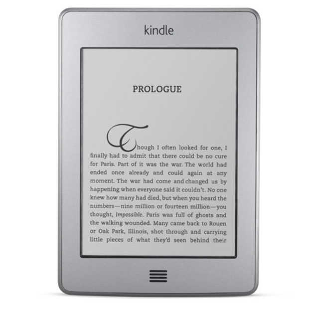 Amazon Kindle Touch komt naar Europa
