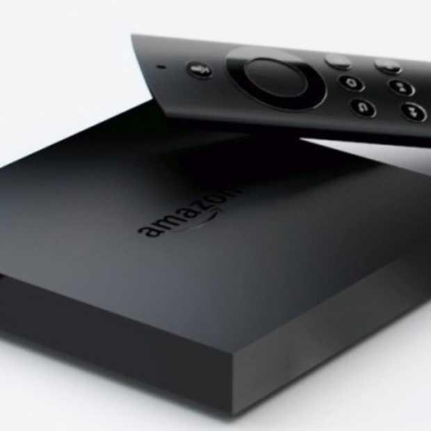 Amazon lanceert Fire TV een eigen set-top box