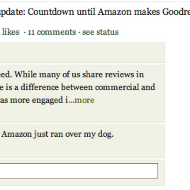Amazon neemt Goodreads over