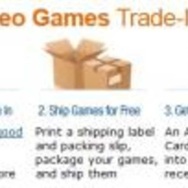 Amazon stapt in gebruikte games markt