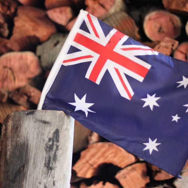 Australië zet zijn hakken in het zand