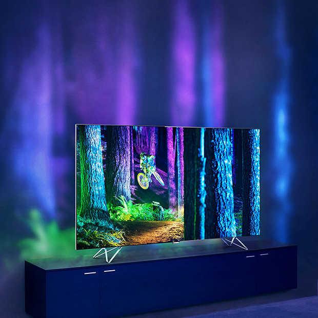 Philips AmbiLux TV - voor de ultieme kijkervaring in huis