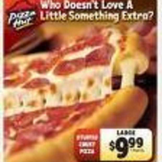 Amerikanen zoeken mobiel naar pizza