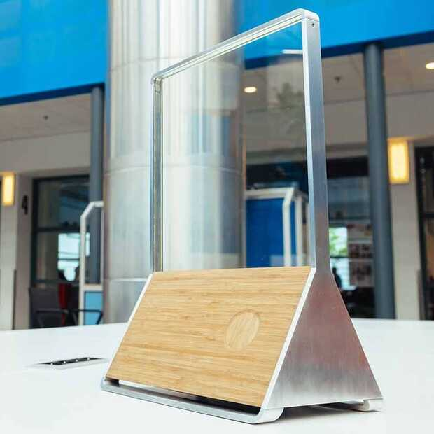 James Dyson Award 2020:  audiosysteem dat glas gebruikt om muziek te streamen