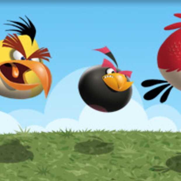 Angry Birds komen naar Facebook