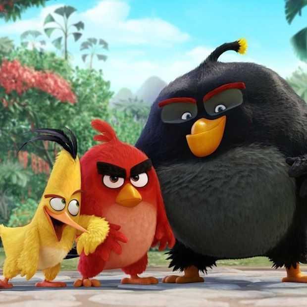 Angry Birds draait vanaf 2016 in de bioscopen