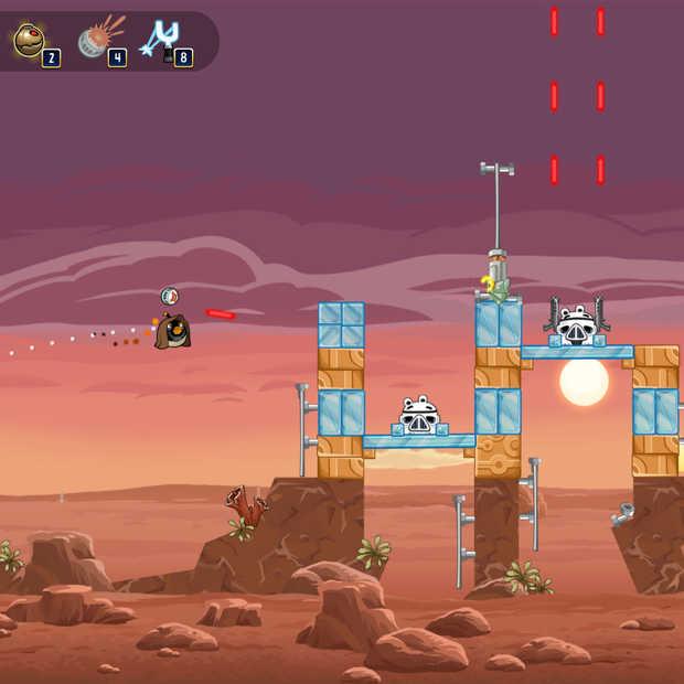 Angry Birds Star Wars nu ook te spelen op Facebook