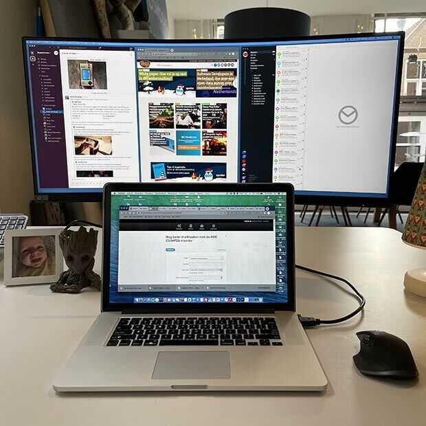 Nog beter multitasken met de AOC CU34P2A monitor
